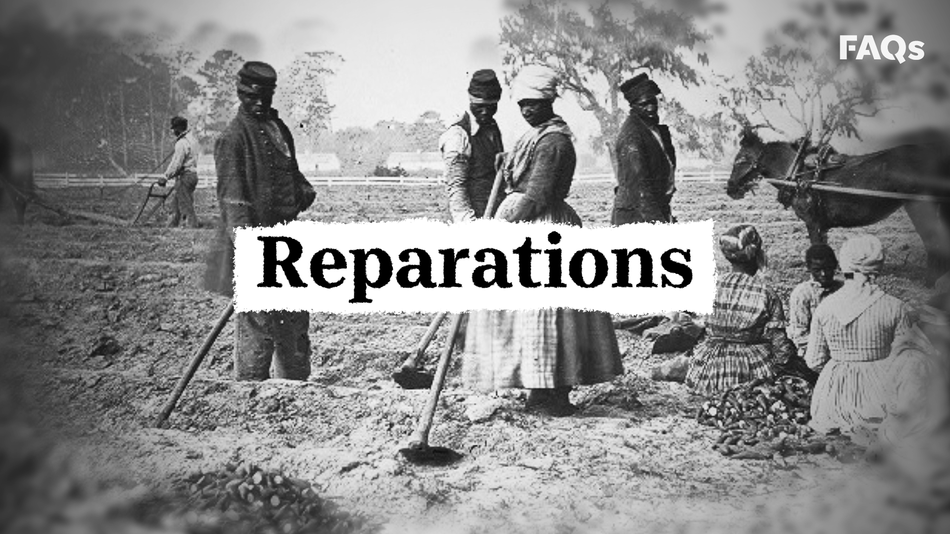 What reparations to Black American descendants of slavery might look like in the US