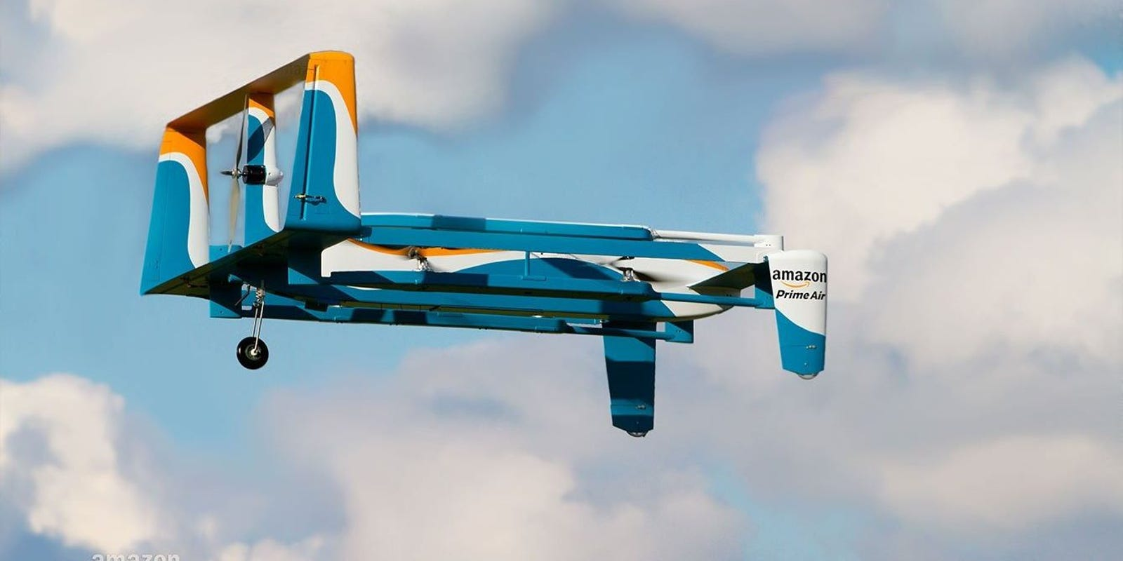 Amazon's Prime Air drone delivery service receives FAA approval