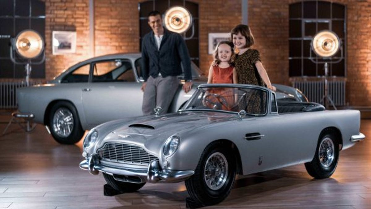 Aston Martin's DB5 Junior is designed for James Bond enthusiasts of all ages