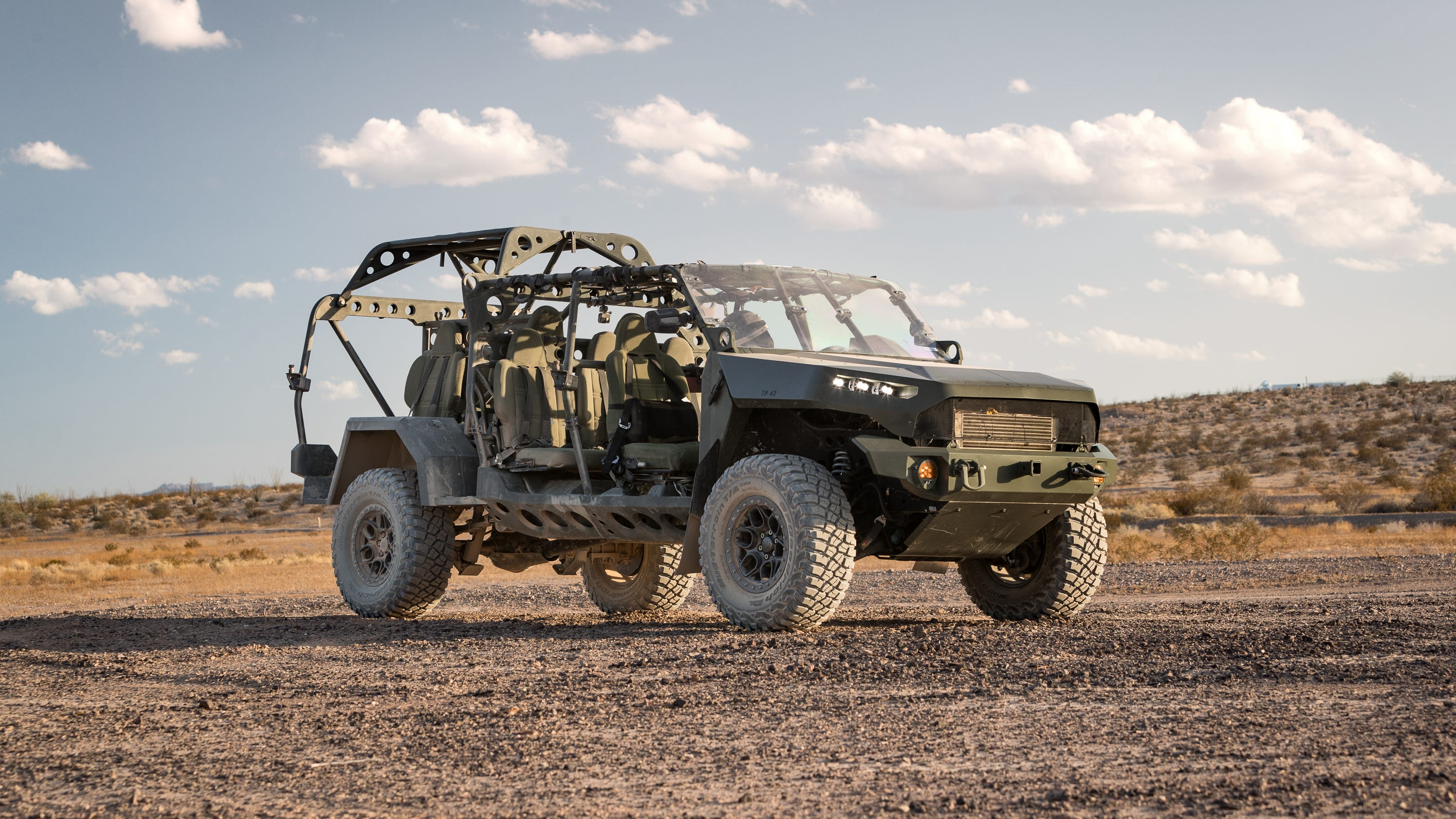 GM military truck could mean billions in defense contracts