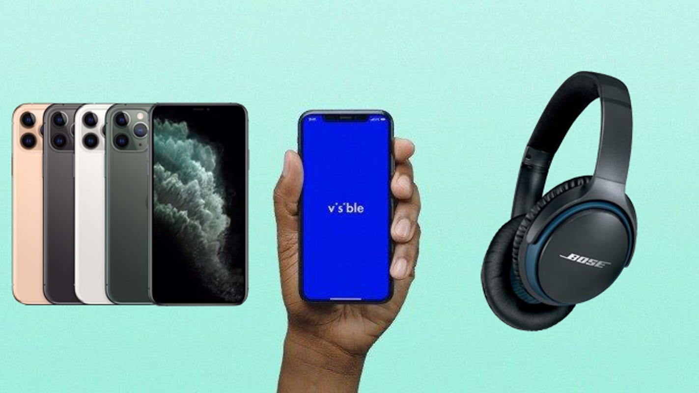 Get a free pair of Bose headphones with an iPhone purchase