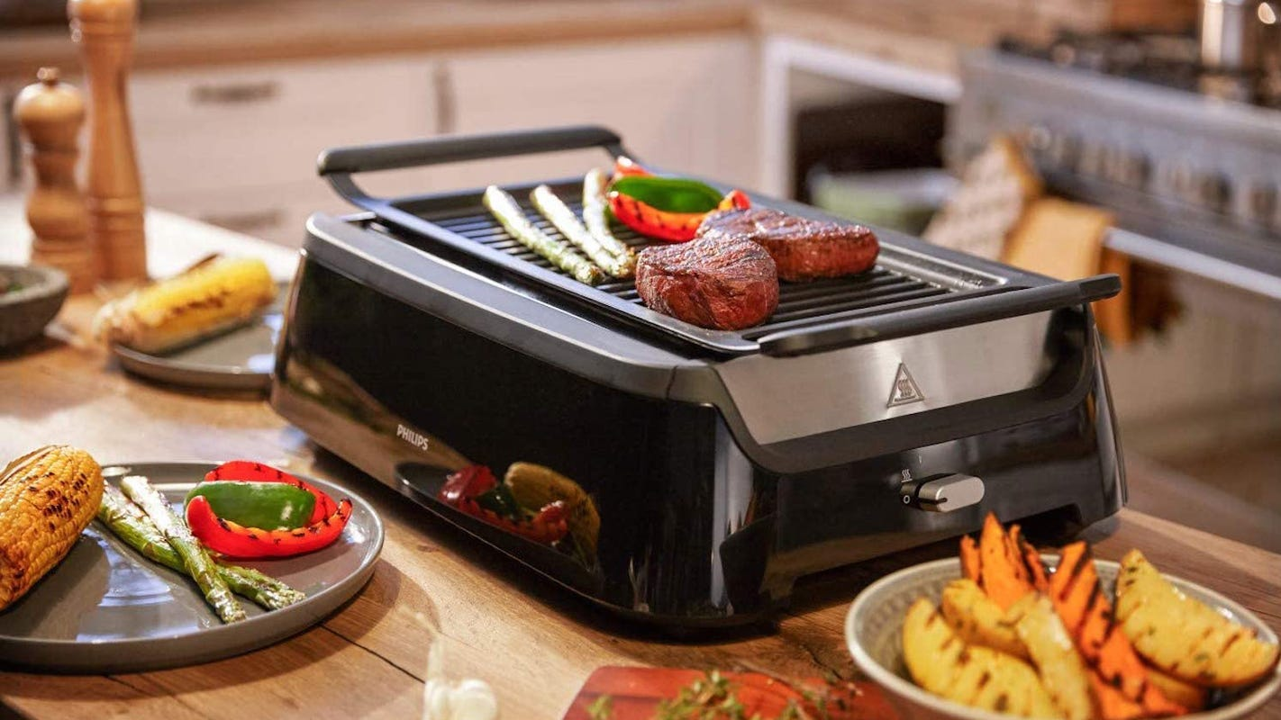 Get this Philips Smokeless indoor grill for $150 off