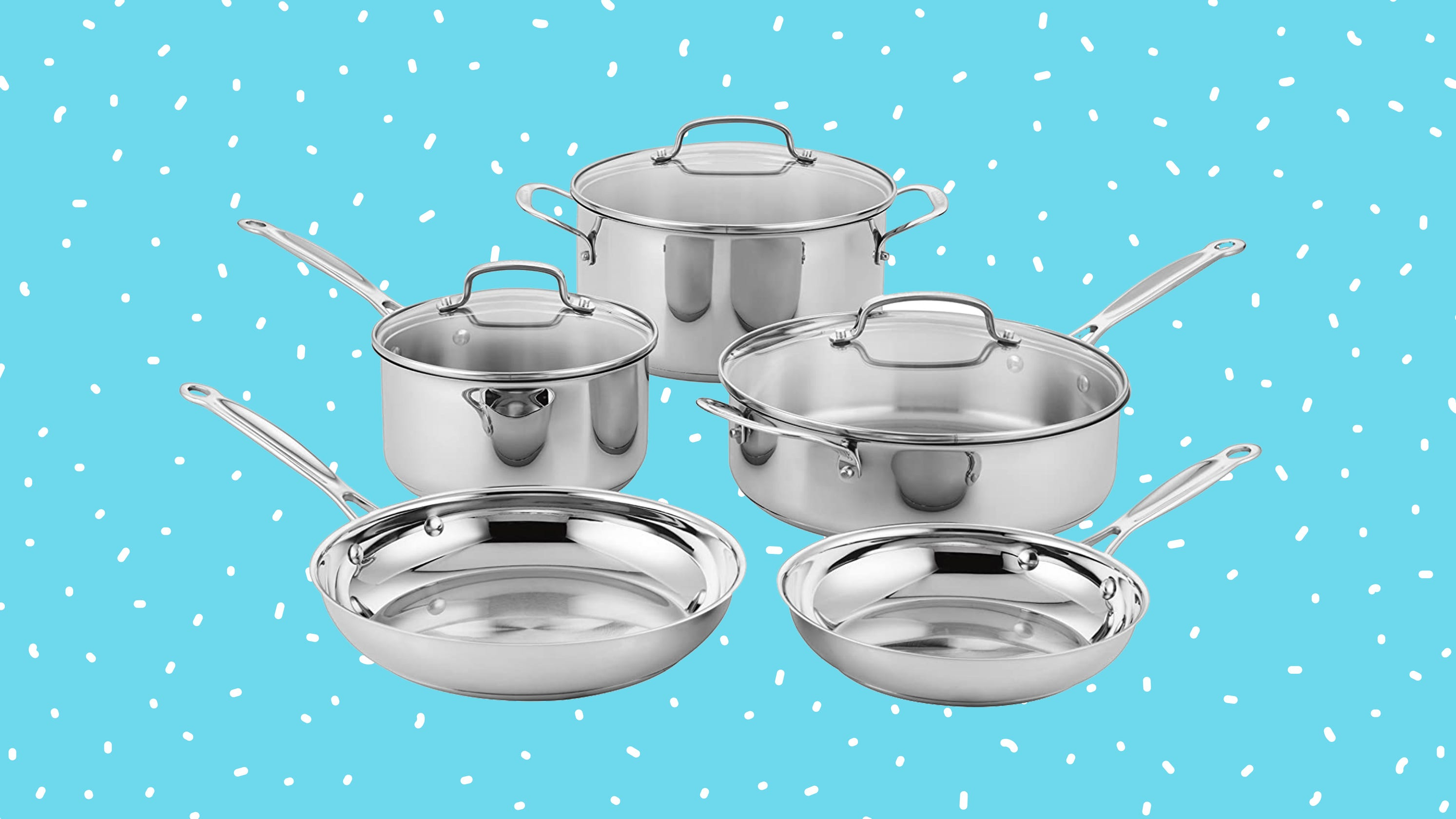 Get this popular stainless steel set for less than $100