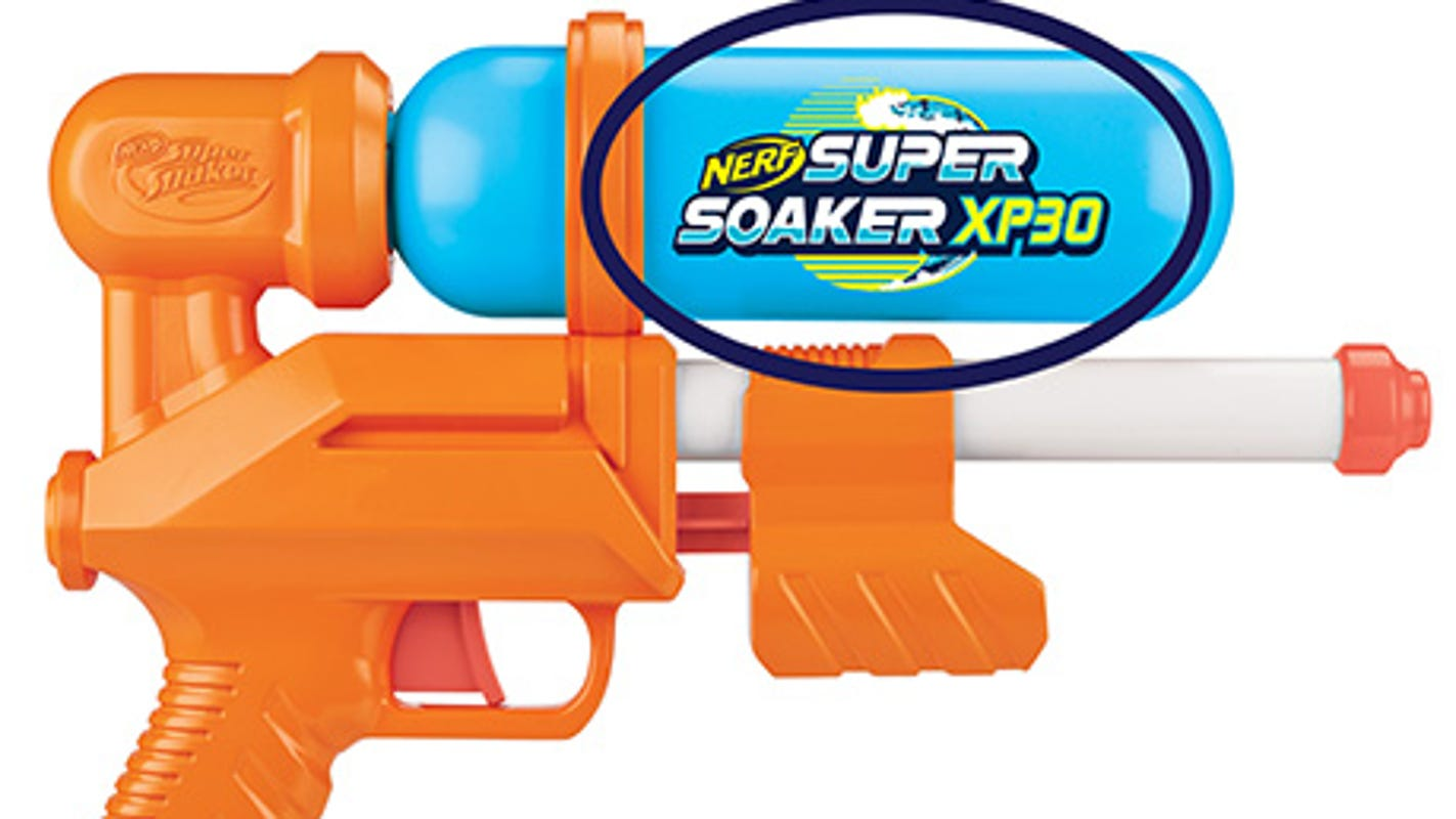 Hasbro recalls 52,900 Nerf Super Soaker water guns sold at Target for lead risk. Here's how to get a refund.