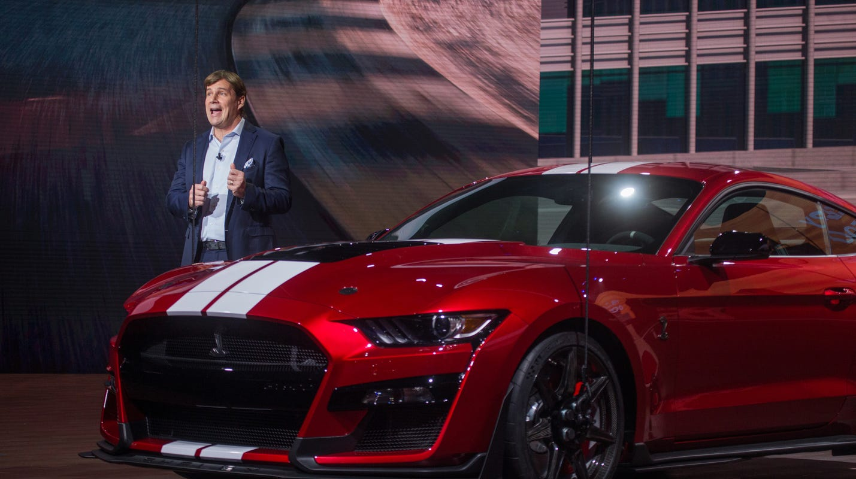 Jim Farley, Jim Hackett about Ford leadership change