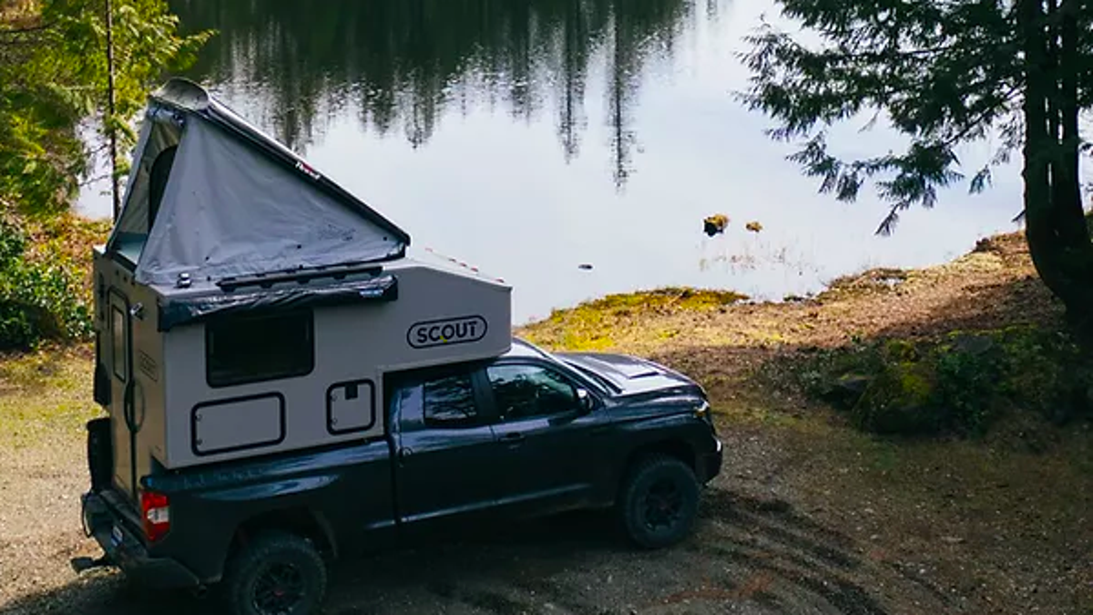 Road trip! Turn your pickup into a camper with this $20,000 attachment