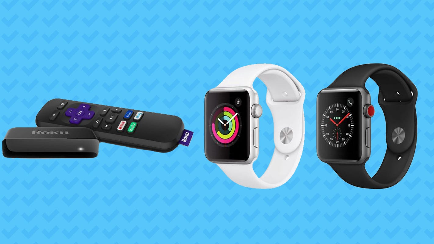 Save big on the Apple Watch Series 3, Roku stick, and more