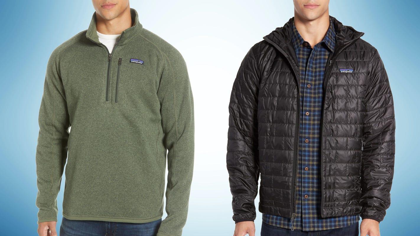 Save on Patagonia jackets, fleeces and more