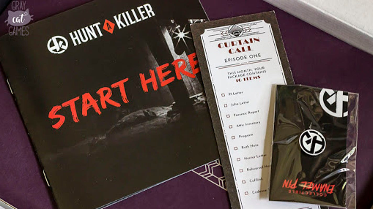 Save on a subscription to this popular murder mystery box