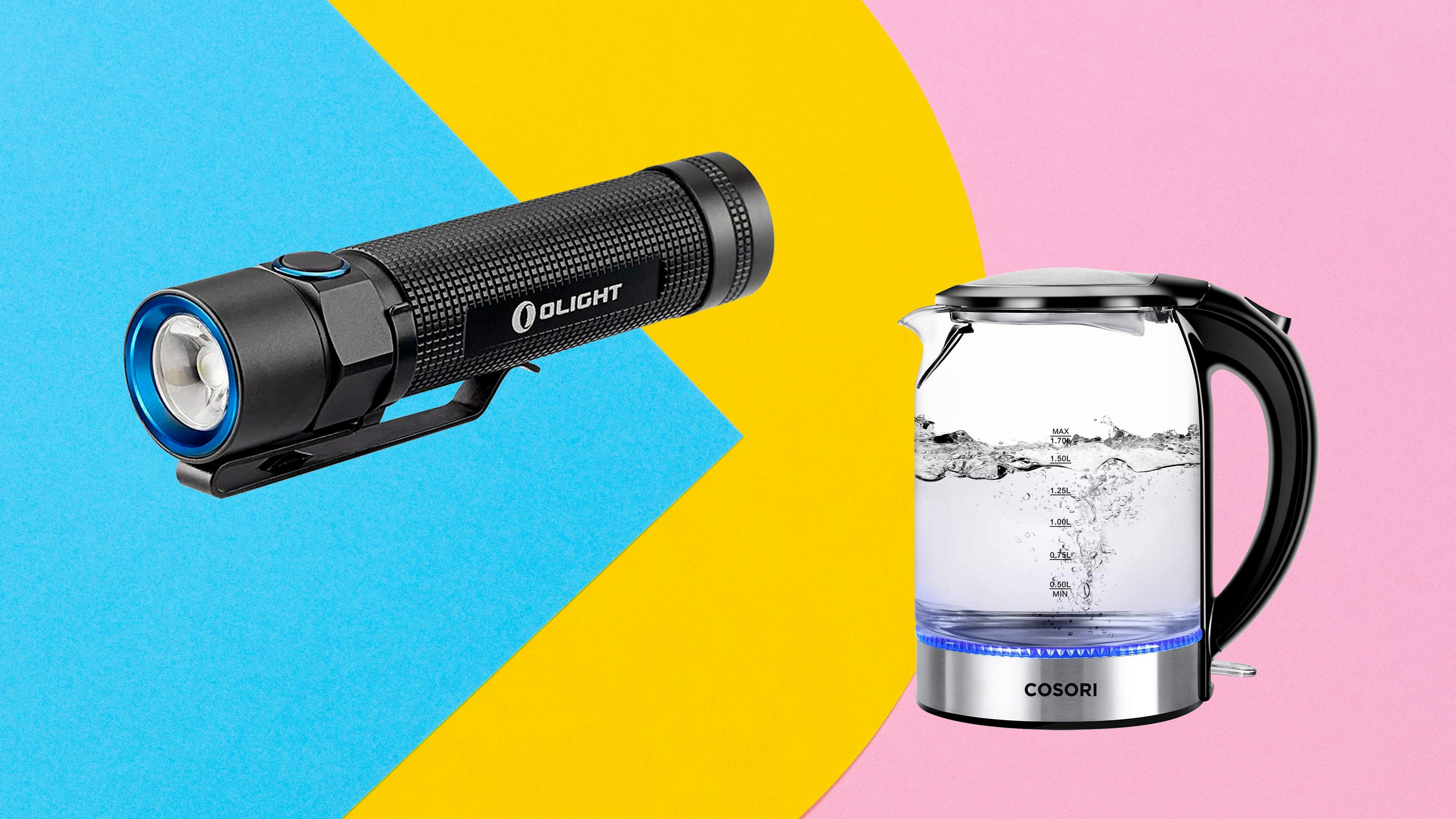Save on back massagers, tea kettles and more