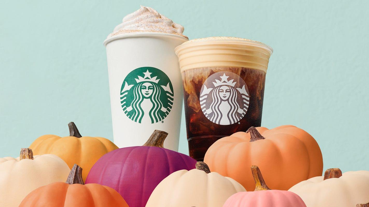 Starbucks Pumpkin Spice Latte returns along with fall bakery menu