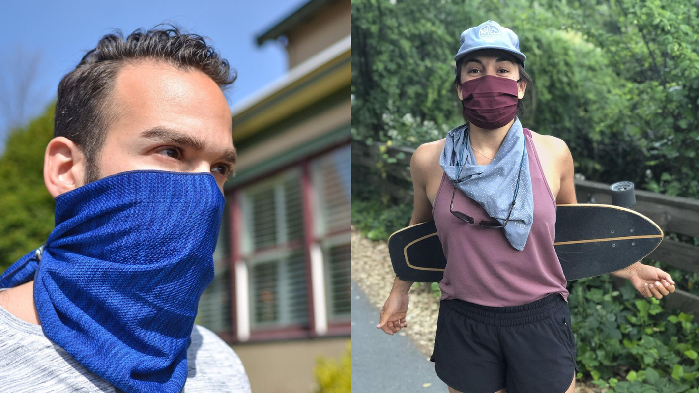 Study finds neck gaiters won't protect you from COVID-19—here's what to get instead