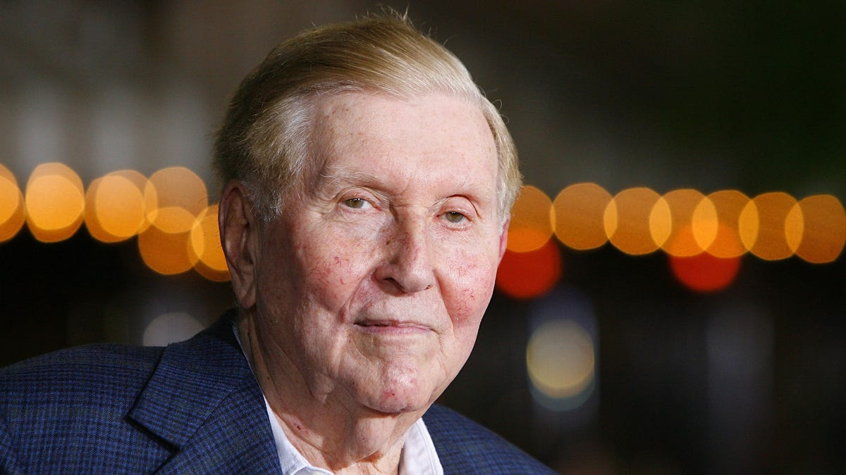 Sumner Redstone: The billionaire's career in pictures