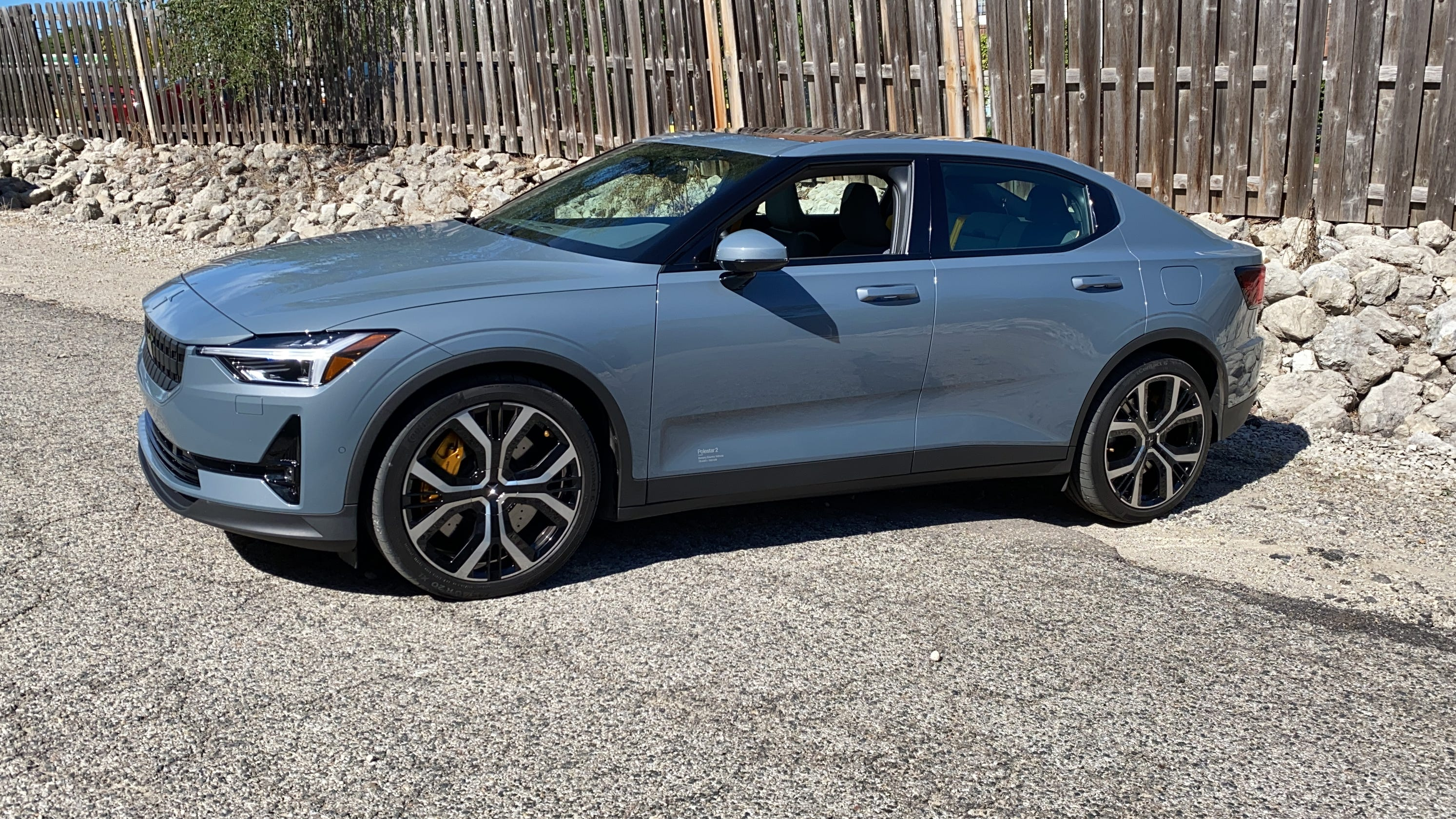 This Volvo electric car is fast, fun, advanced