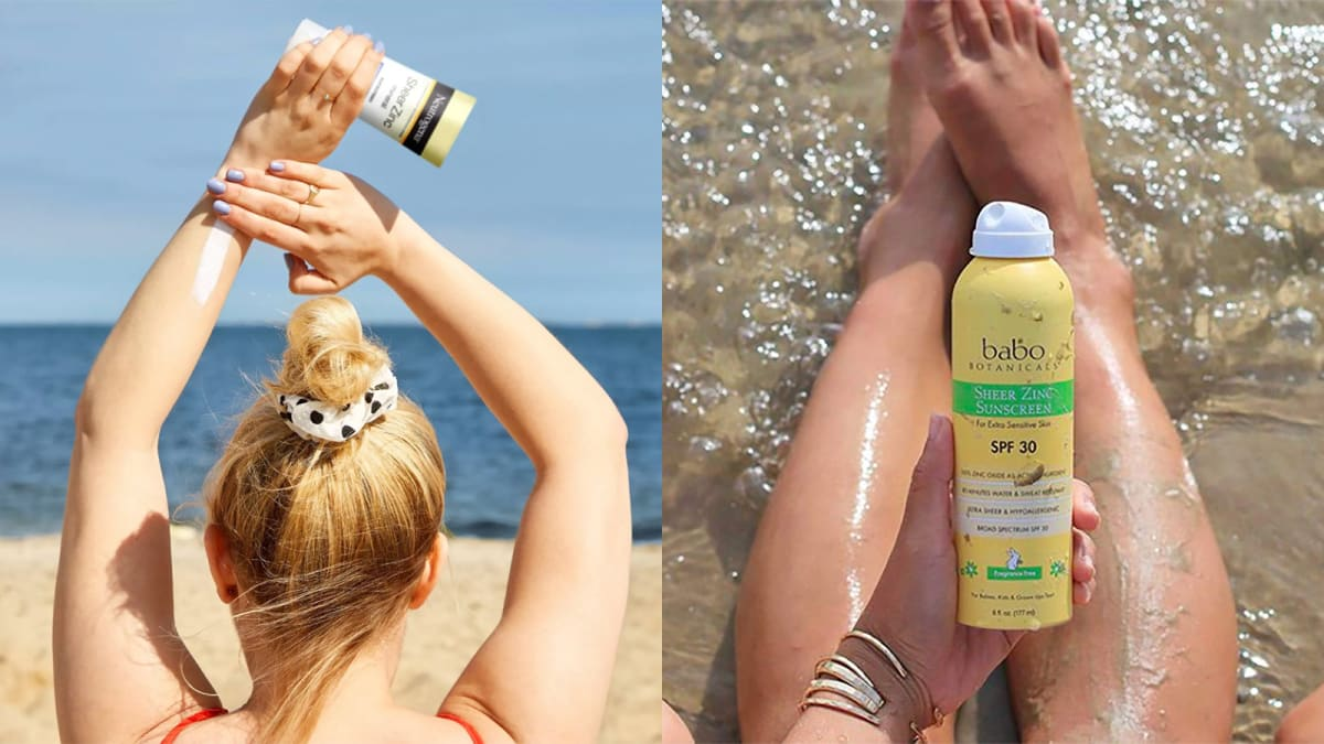 UV-protection products that don't contain chemical sunscreens