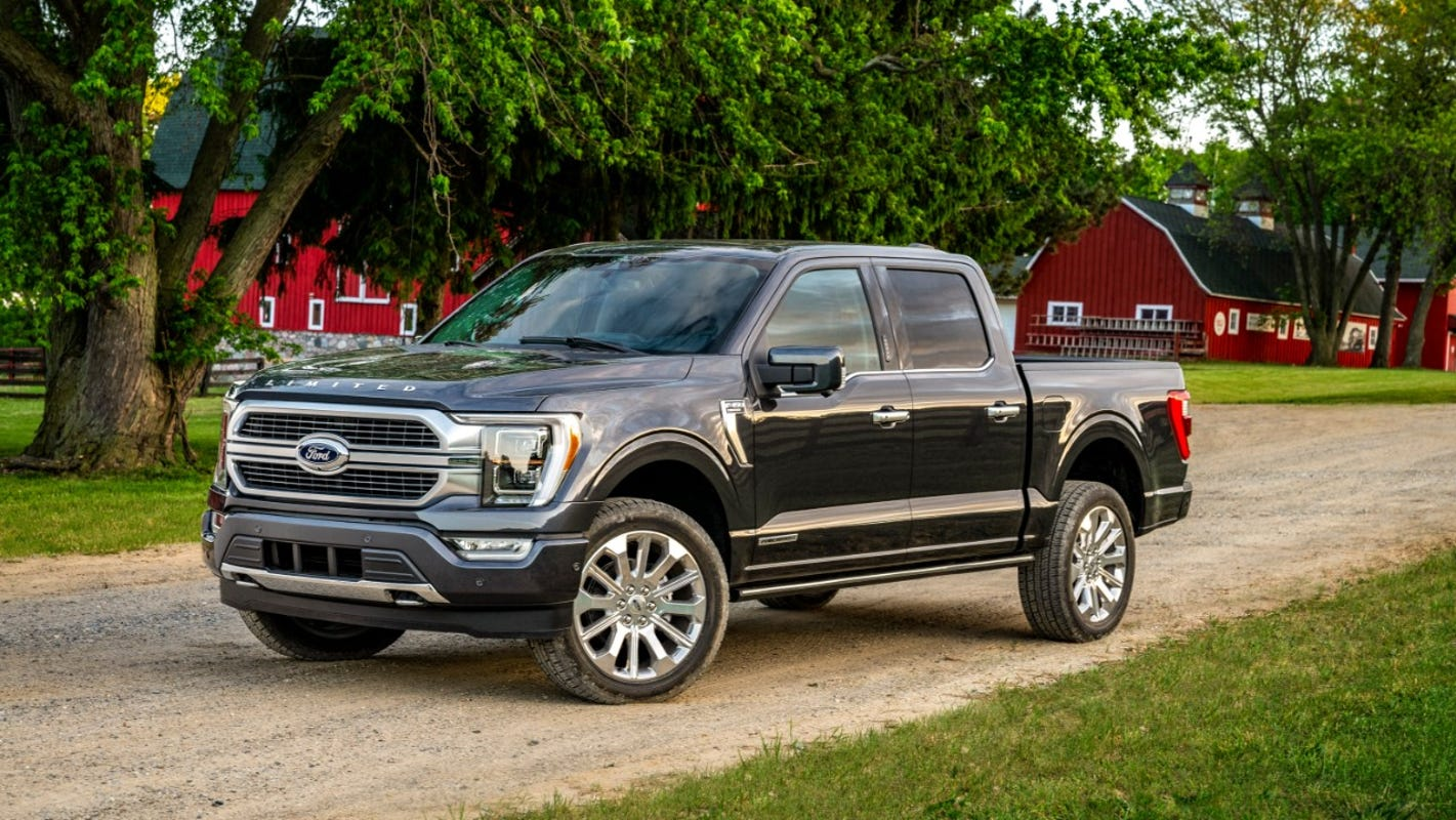2021 Ford F-150 claims best towing and payload, most torque in history