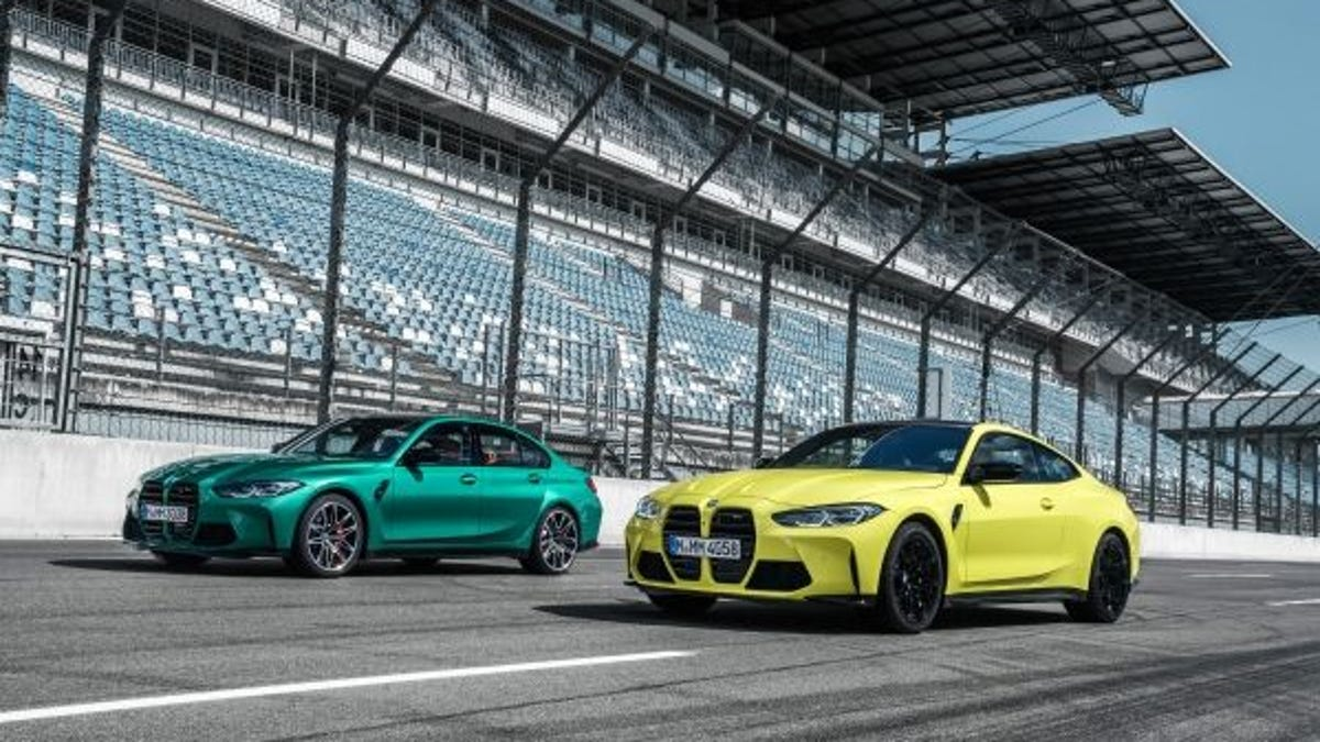 BMW unveils 2021 M3 Sedan and M4 Coupe: Bigger cars with bolder grilles