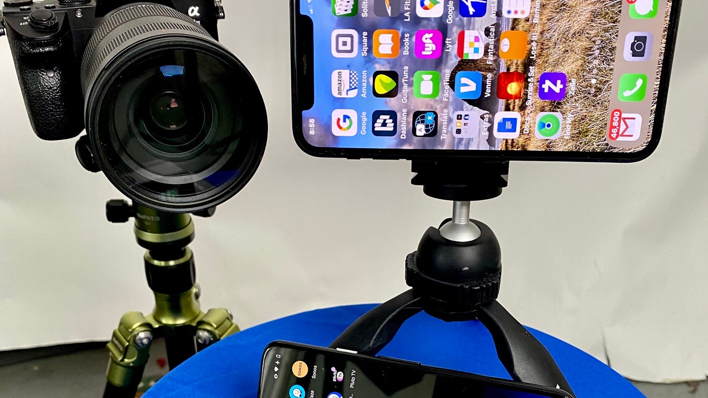 Best camera from webcam to iPhone