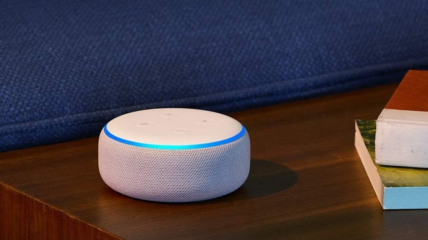 Check out this 2-for-1 Echo Dot deal
