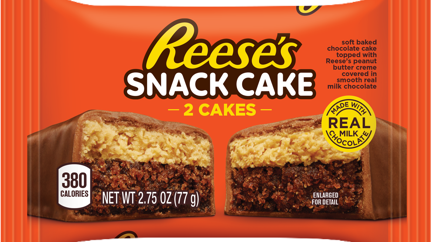 Coffee cake has some sweet competition: Hershey's launches Reese's Snack Cakes for breakfast