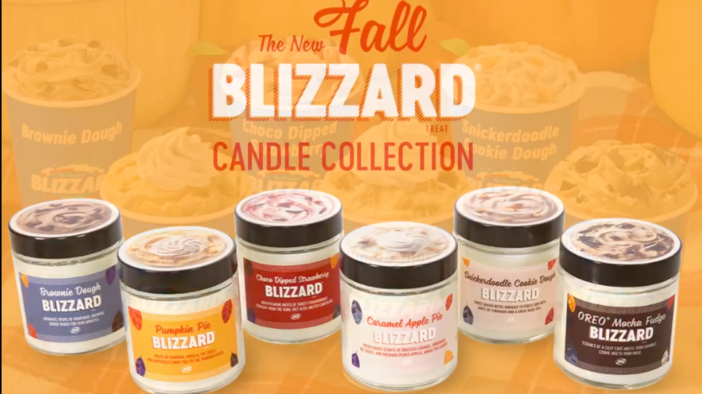 Dairy Queen launches Blizzard-scented candles, but quickly sold out