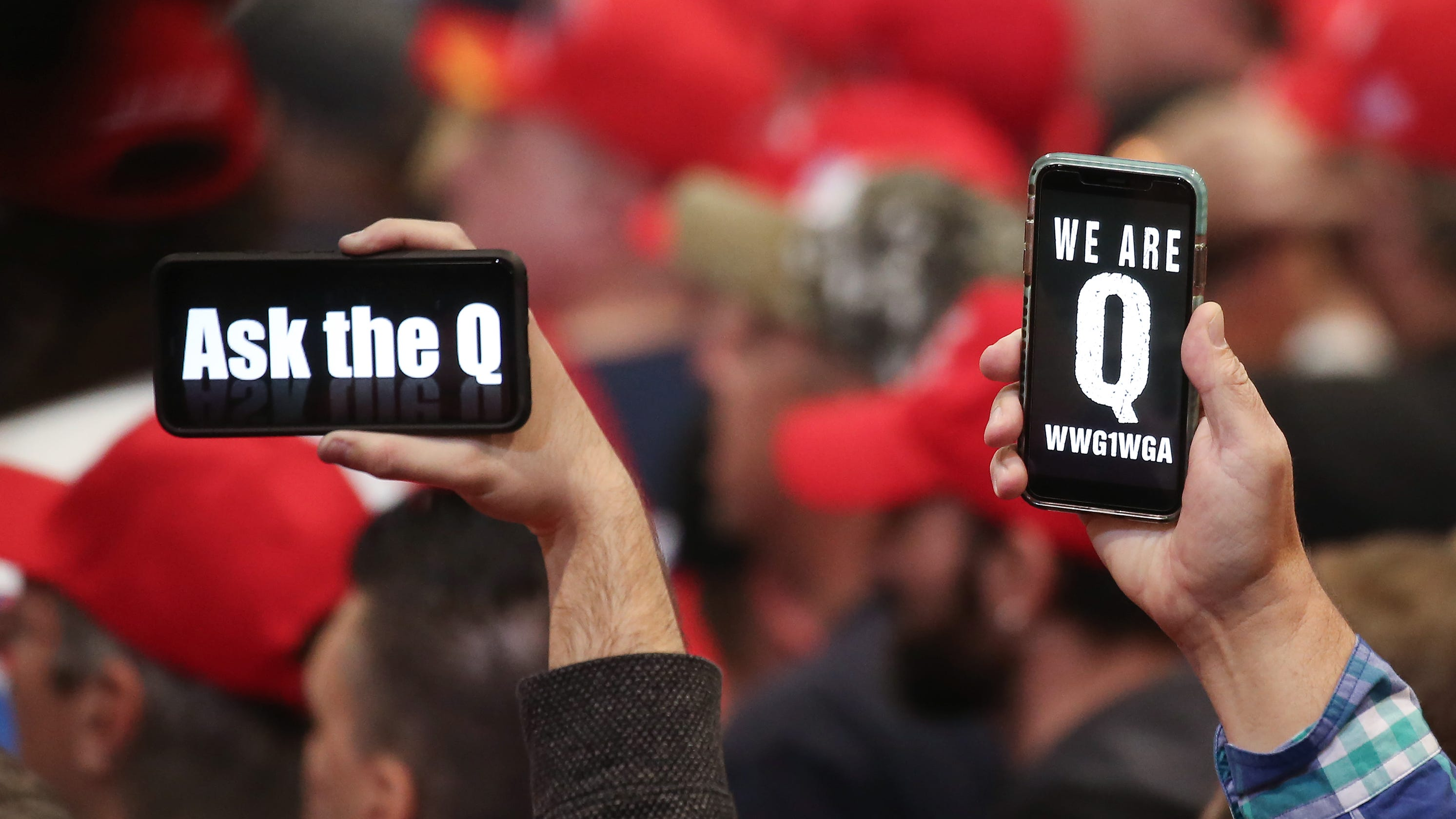 Debunked QAnon conspiracy theories are seeping into mainstream social media. Don't be fooled.