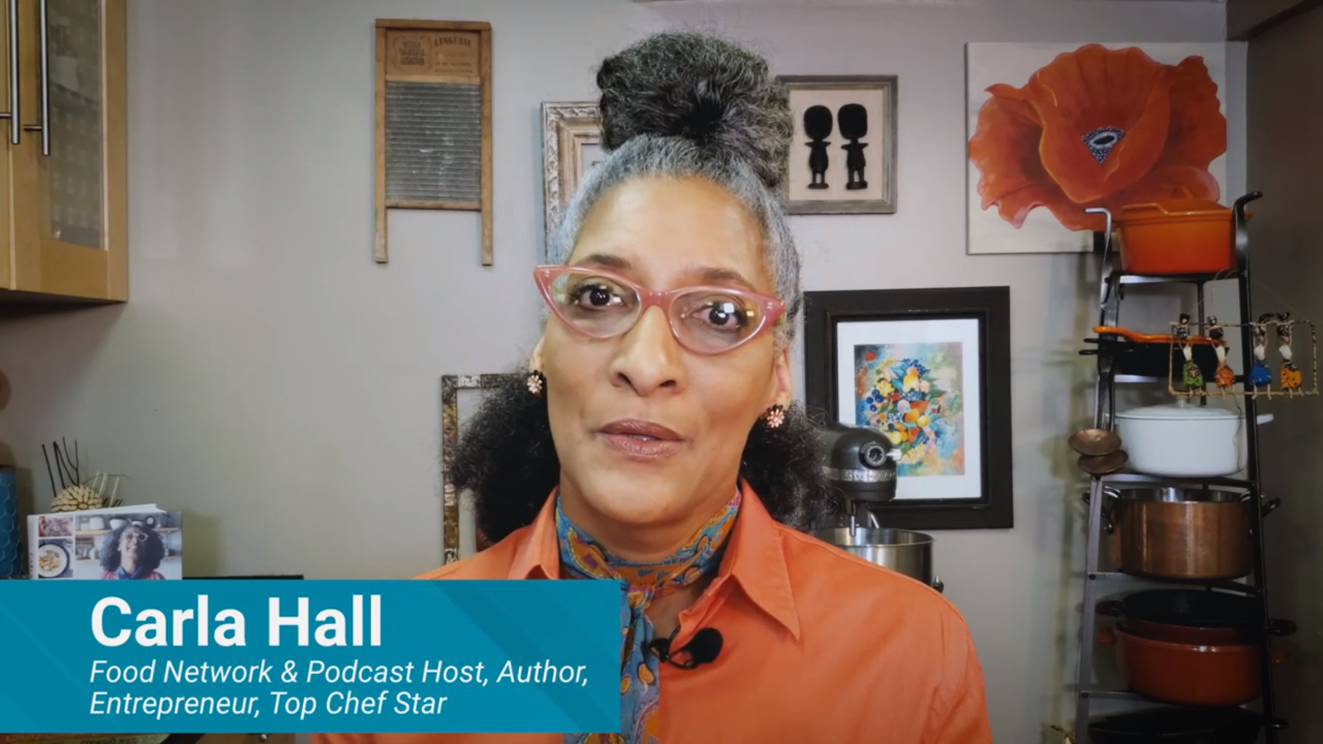 Food Network's Carla Hall's advice to small businesses