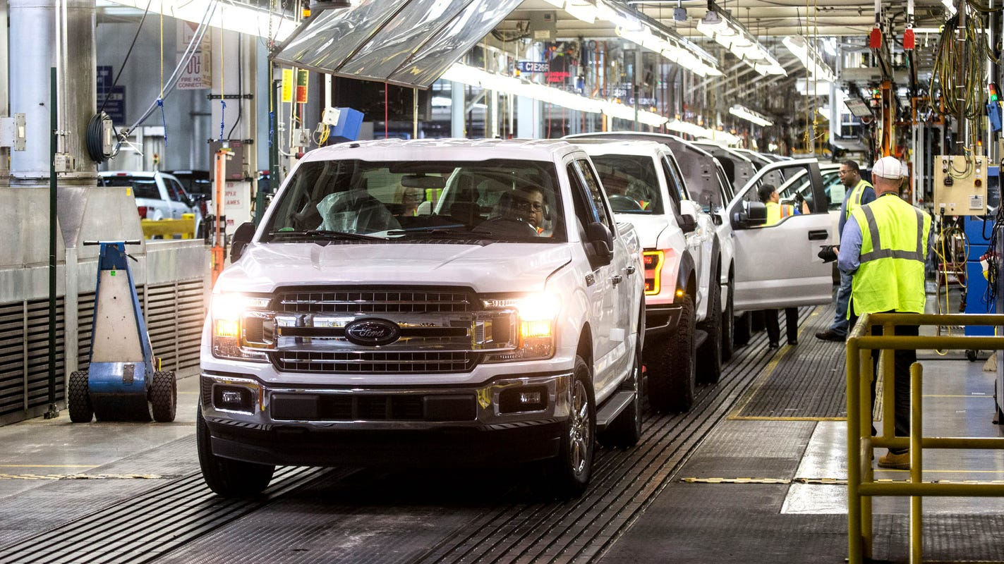 Ford invests $700M in plant to build all-electric F-150