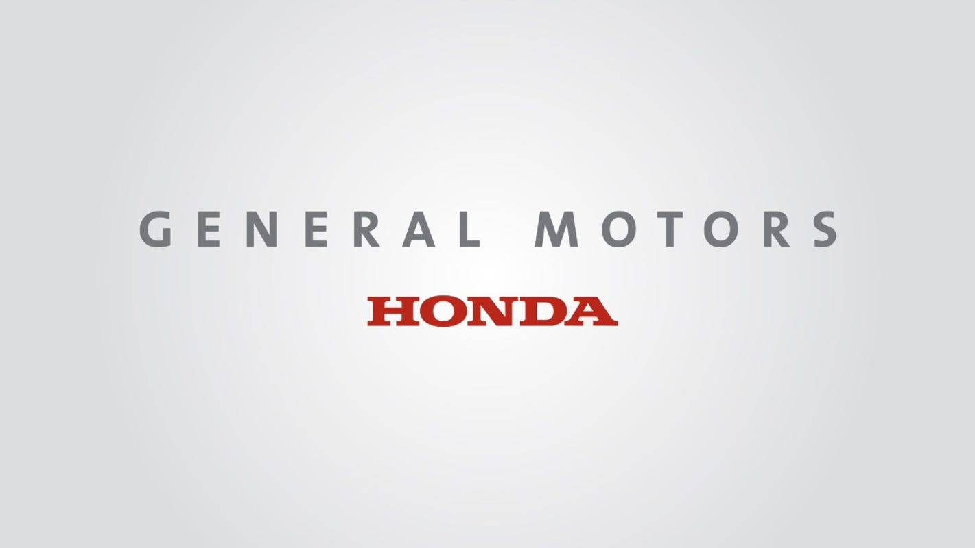 GM and Honda agree to partner up to save costs in North America