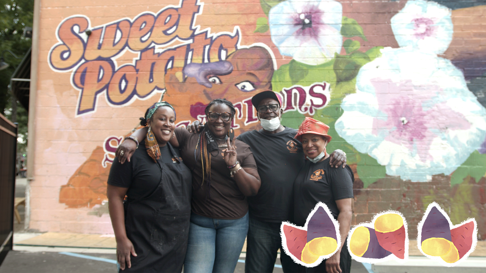 How a Black-owned sweet potato cafe has been surviving through COVID-19 without its staff