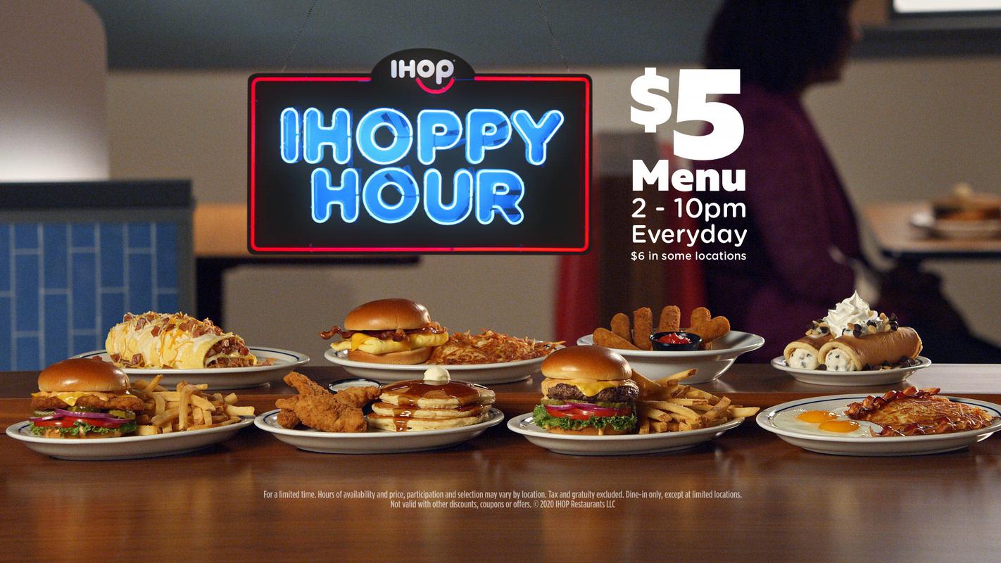 IHOP now has IHOPPY Hour with 8 hours of specials