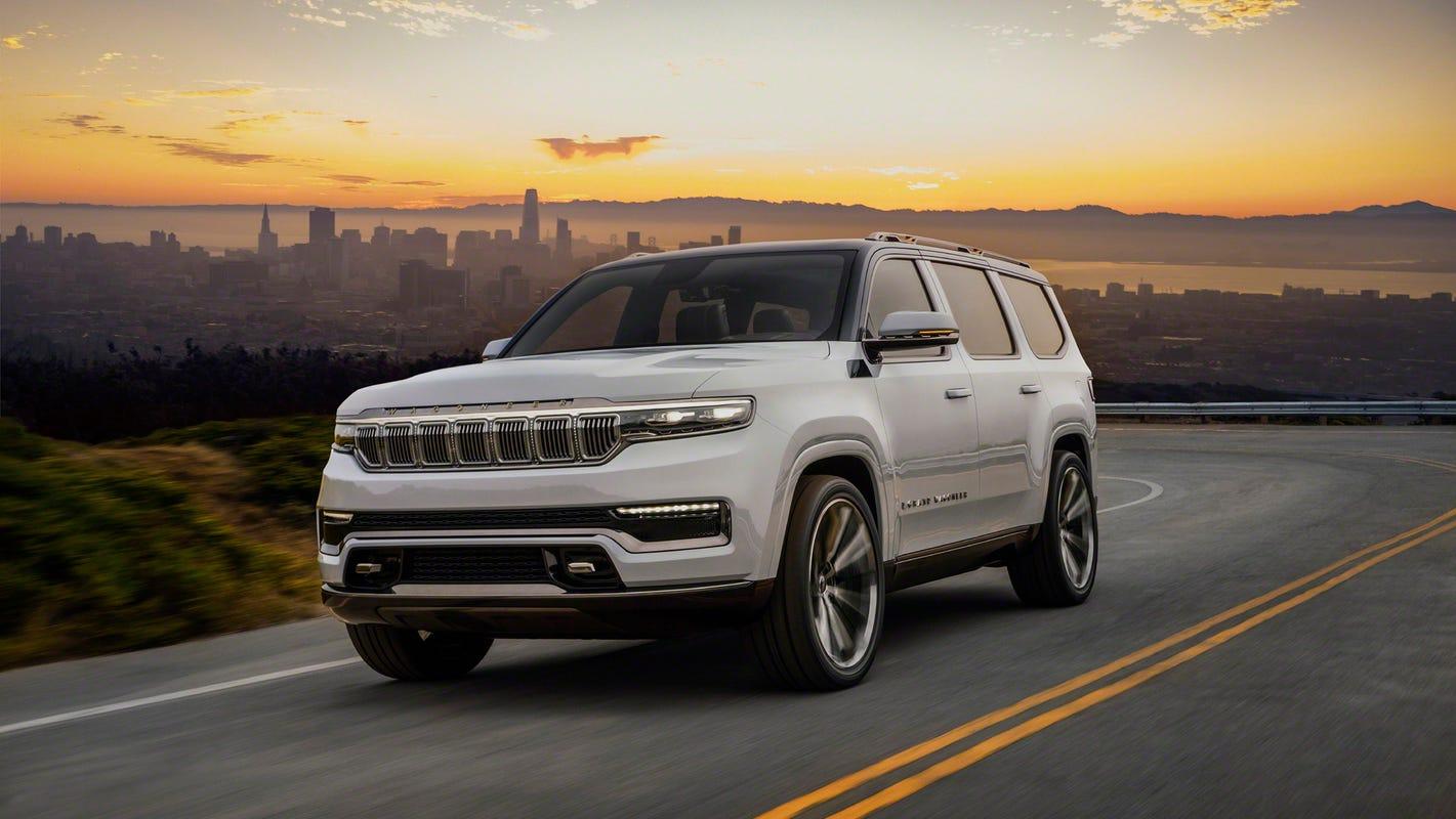 Jeep Grand Wagoneer SUV takes aim at luxury vehicle market