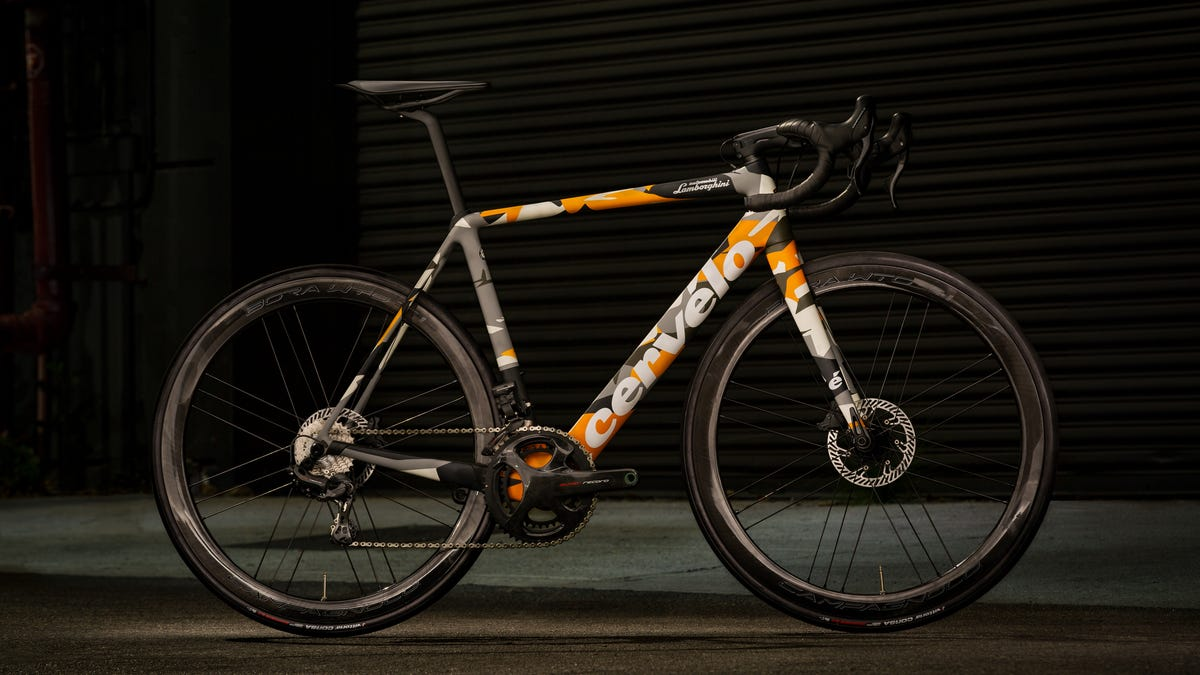 Lamborghini is offering a $18,000 supercar-inspired bicycle
