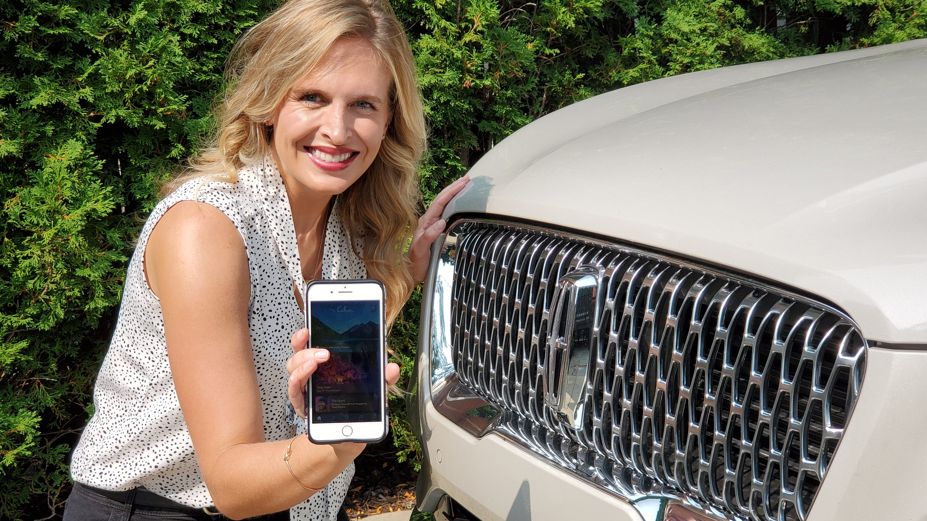 Lincoln drivers get app for meditation, better sleep, less anxiety