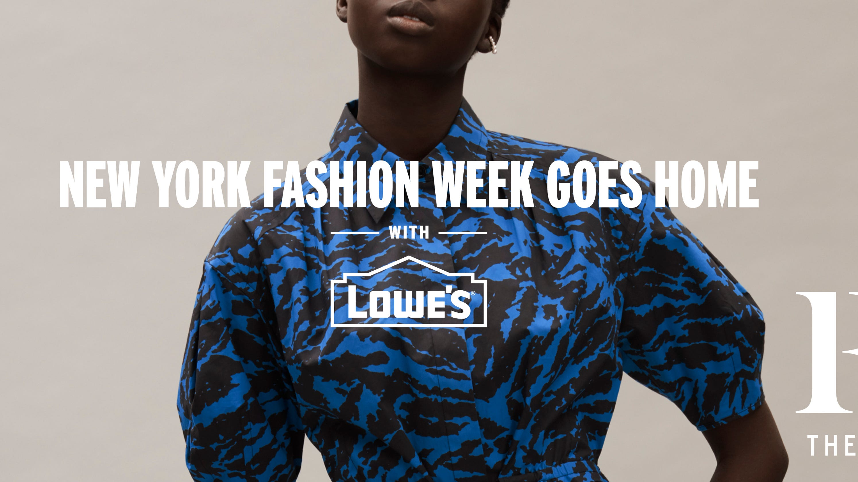Lowe's runway curations now live