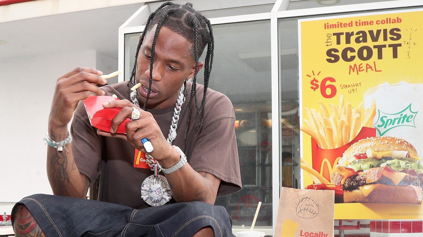 McDonald's, Cactus Jack add merchandise collection