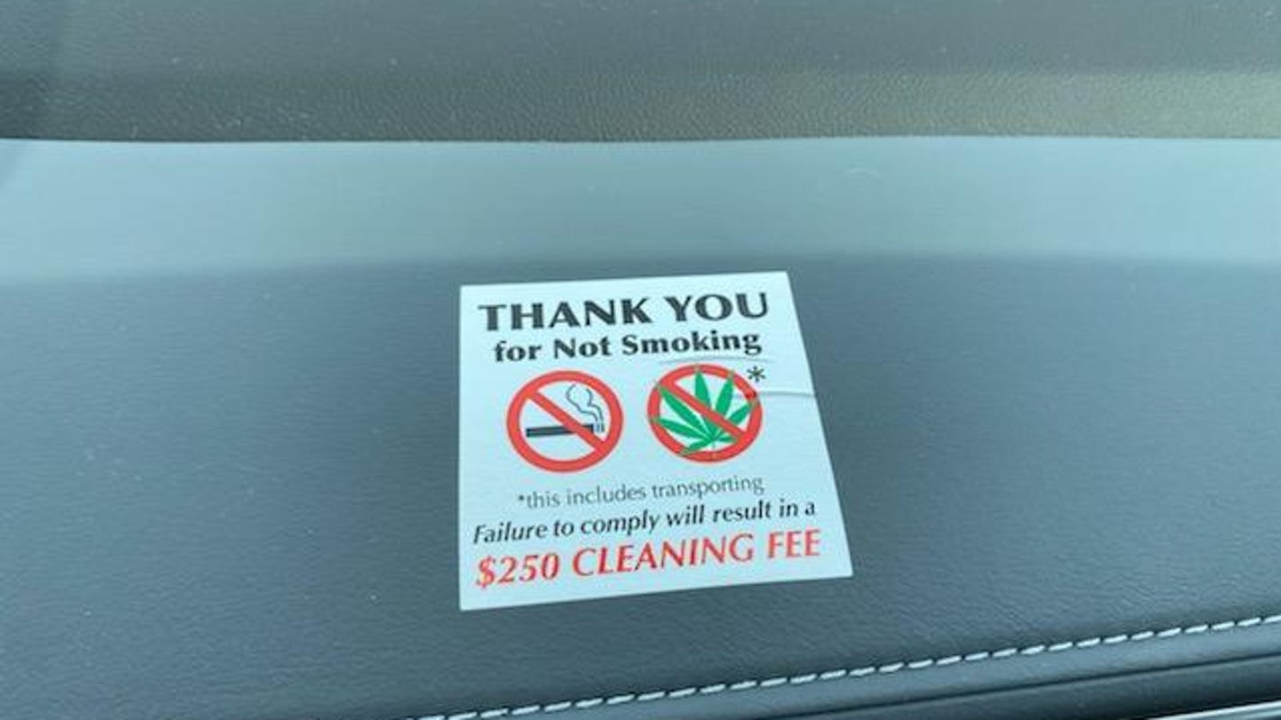No loaners for stoners? Car dealers say pot smell in cars is on rise