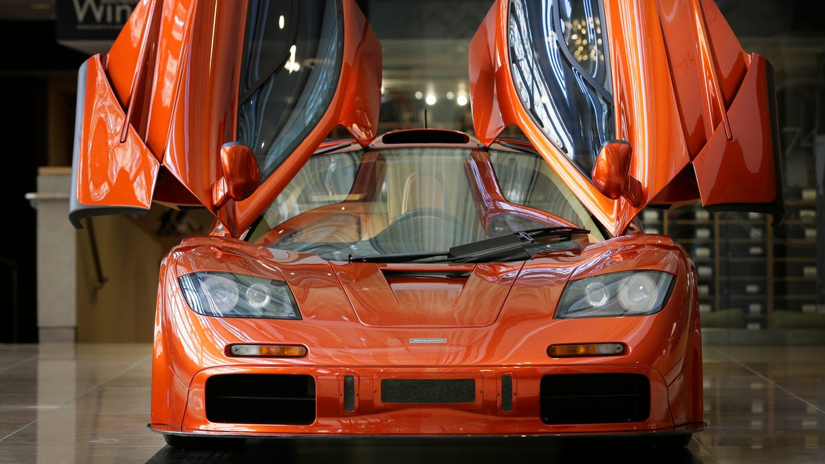Orange cars over the years—because it's officially autumn