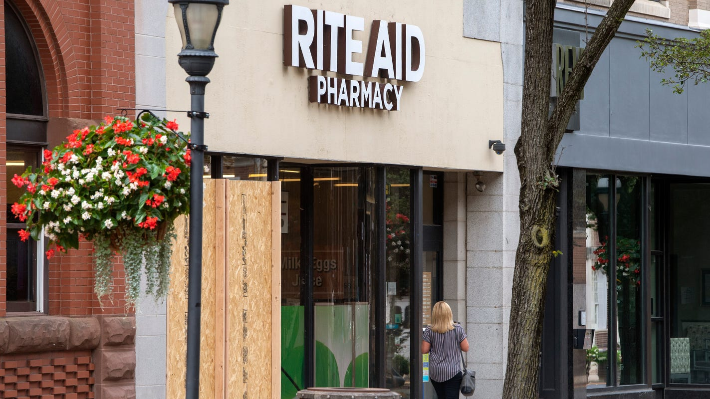 Rite Aid fires manager who defends herself from man who refused mask