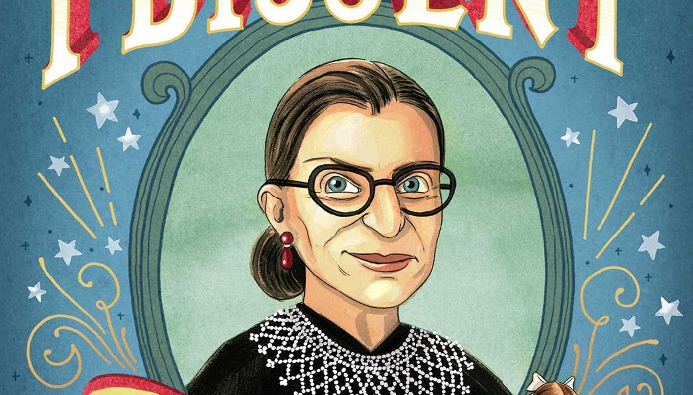 Ruth Bader Ginsburg stickers, T-shirts, books among Amazon's and Etsy's bestsellers