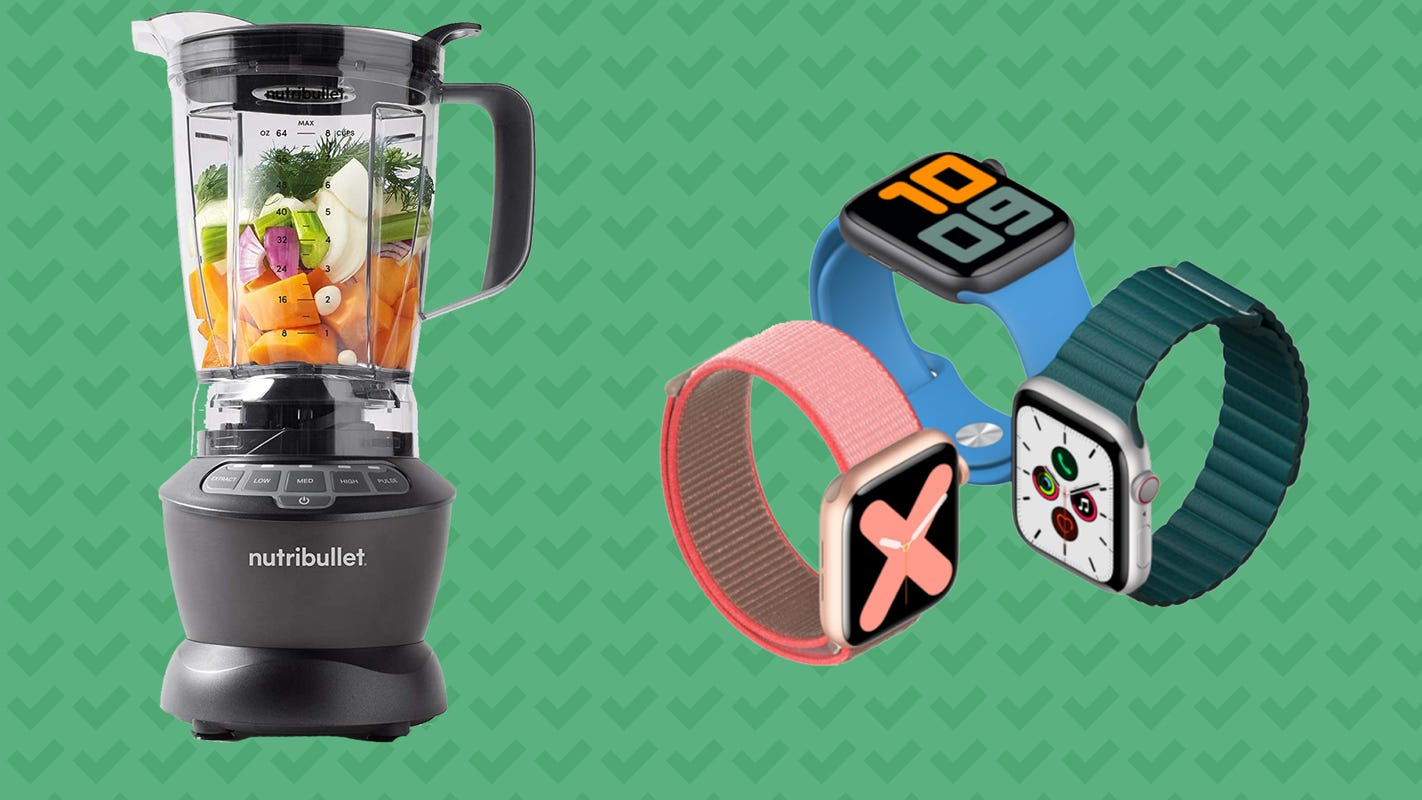 Save on the Apple Watch Series 6, a NutriBullet and more