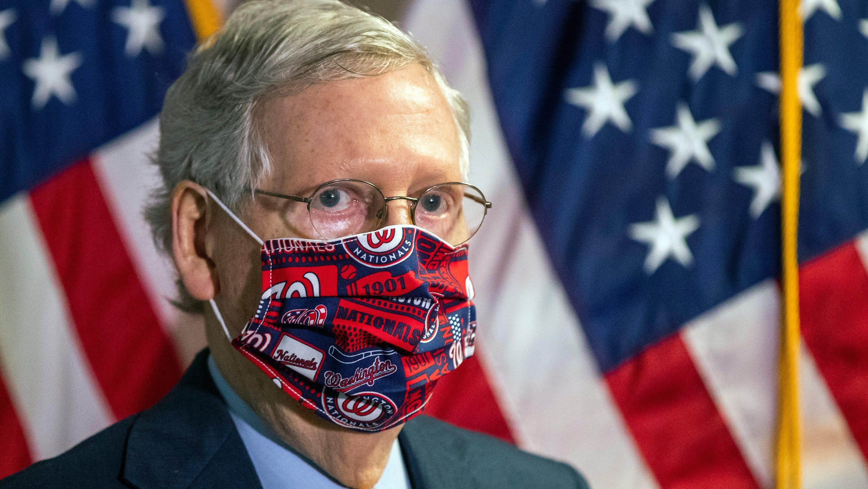 Senate Republicans unveil skinny bill amid opposition