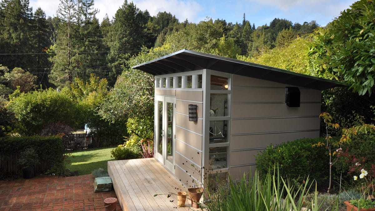 These next-level outdoor sheds that double as home offices