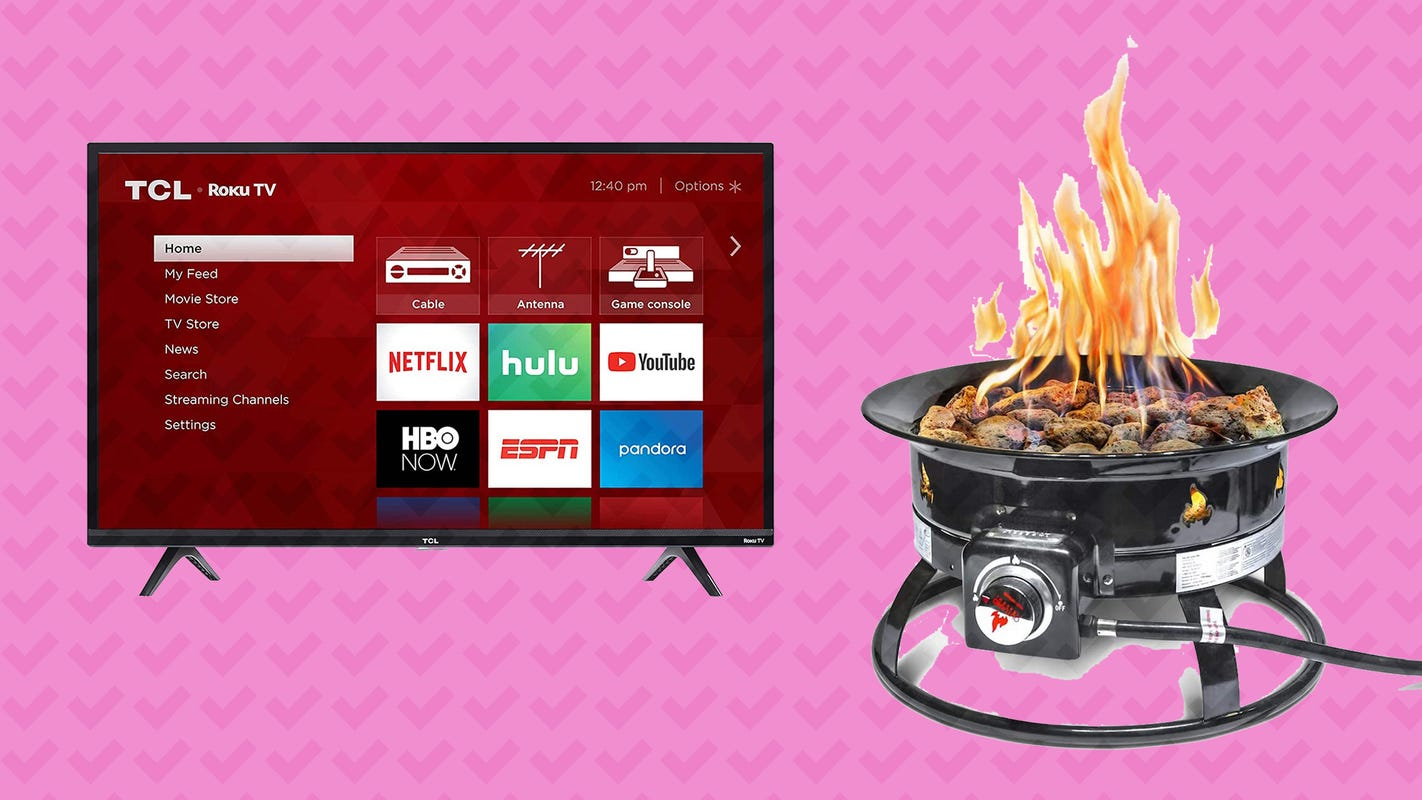 Today's best discounted finds include a TCL Roku TV and more