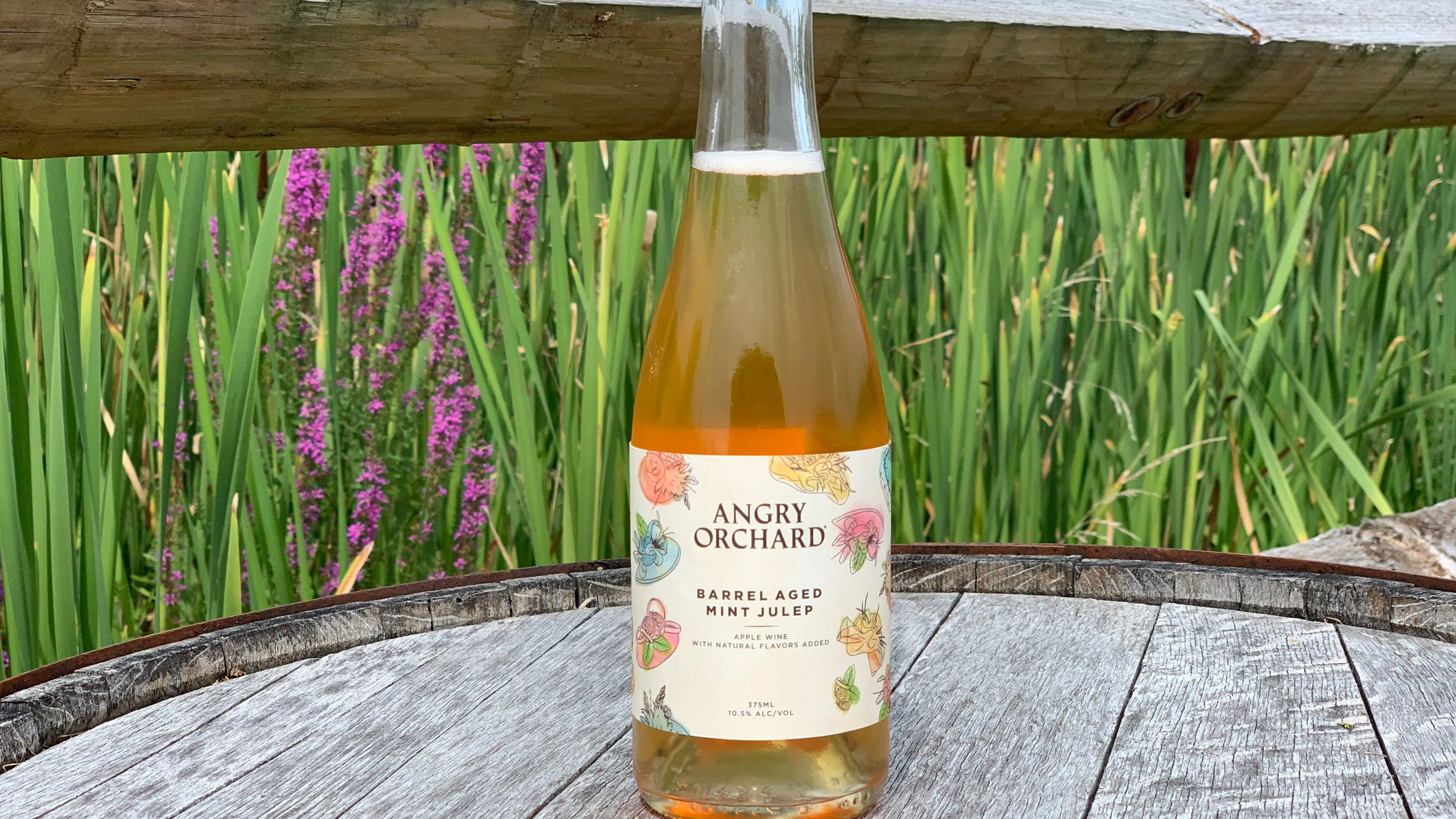 Walden's Angry Orchard has connection to Kentucky Derby mint juleps