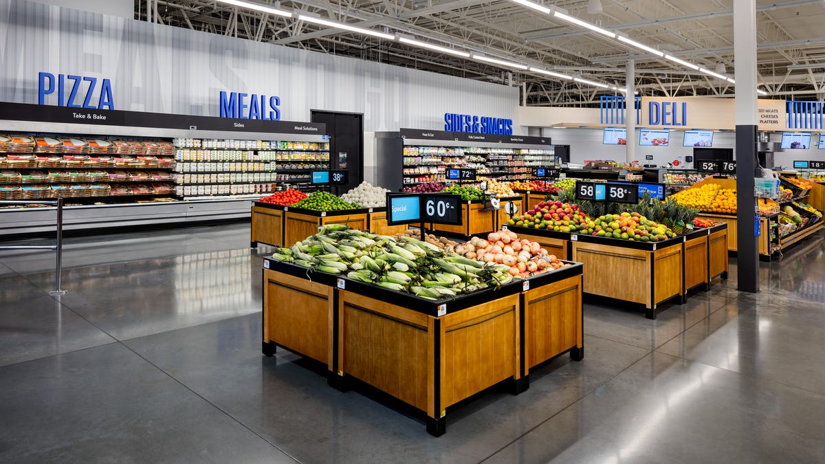 Walmart store of the future: New design focuses on 'seamless' shopping experience