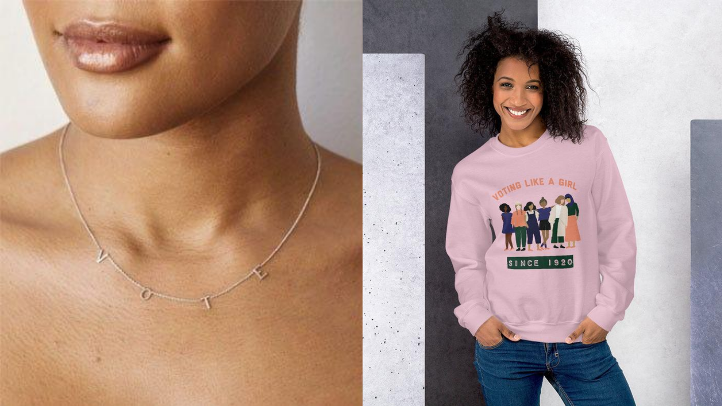 Where to buy t-shirts, buttons, necklaces, and more